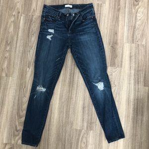 Distressed LOFT Jeans